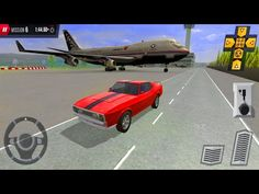 Muscle Car Parking on Airport Tracks - Multi Level Parking 5 - Android Gameplay - YouTube
