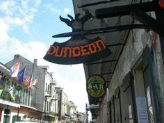 The Dungeon in the New Orleans French Quarter has everything to satisfy a wild hair: cages in place of tables, a heavy metal jukebox and ghost stories.