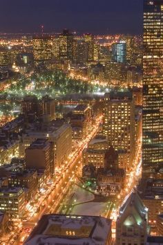 Boston's Skywalk Observatory gives you 360 degree views of this amazing Massachusetts' town.