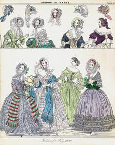 Reasons to be glad you're not getting dressed in 1837.