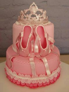 Ballet-dancer cake