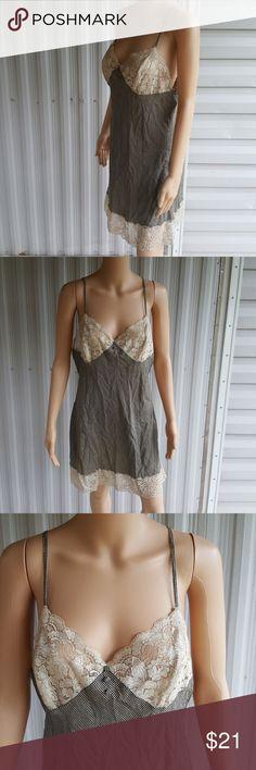 LG 100% silk vintage victoria secret slip Excellent condition victoria secret slip 100% silk Victoria's Secret Intimates & Sleepwear Chemises & Slips