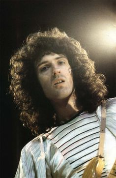 Brian performing with Queen...
