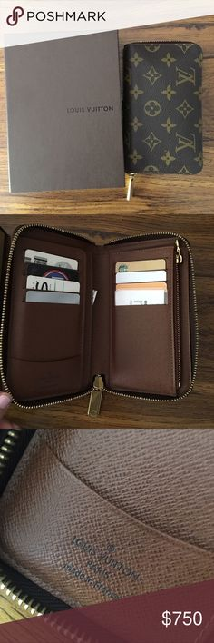 """Old Model Zippy Compact Wallet Old Model Zippy Compact Wallet. 100% Authentic... bought from Fashionphile. Comes with the box and dust bag. Hardware and wallet are in good condition-No stains, rips, etc. Date code reads: """"M14141."""" Louis Vuitton Bags Wallets"""