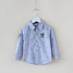 Fall 2014 new children's wear children's baby boy woven cotton long sleeve shirt quality institute wind shirt on EdithJewelry.com