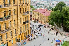 Andrew's Descent – one of the main sights of Kiev · Ukraine travel ...
