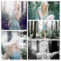 beautiful forest photoshoot!