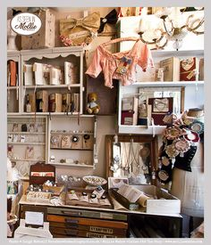 Mollie-Makes-visits-J ~ We love looking at this adorable shop, it also so happens to have the same intials as our creator!