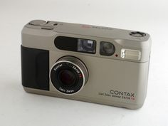 Contax T2. I own this, but it's broken and the repair bill is pretty steep. Amazing camera, though.