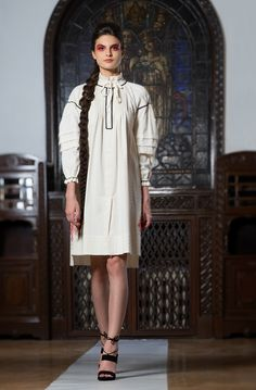 Adrian Oianu romanian design First ten steps Collection Dresses With Sleeves, Shirt Dress, Long Sleeve, Womens Fashion, Outfit Ideas, Shirts, Outfits, Collection, Design