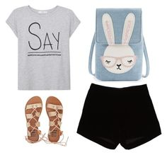 """""""Untitled #189"""" by summer-zou ❤ liked on Polyvore featuring MANGO, Andrew Gn and Billabong"""