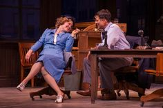 """John Guare's adaptation of """"His Girl Friday"""" plays as a screwball comedy, but hints at darker themes. August Strindberg, Samuel Beckett, Performing Arts, Plays, The Voice, Comedy, Stage, Friday, The Outsiders"""