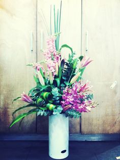 Large corporate flowers