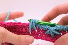 Feather Stitch Tutorial