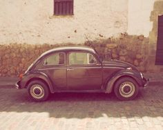 Slug Bug8x10 Fine Art Photograph Vintage like beetle by diemdesign, $22.00