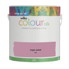 Wilko Silk Emulsion Paint                         Sugar Sweet 2.5L