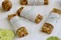 Key Lime Pie Energy Bars - The Real Food Dietitians