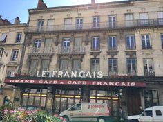 Le Francais restaurant, Bourg en Bresse. Traditional feel, excellent warm and personal service, great food, extremely loyal clientele, long holidays which keep staff turnover close to zero. I'm always impressed by this place.