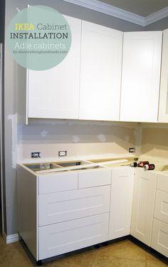 Kitchen // IKEA Kitchen Cabinet Installation