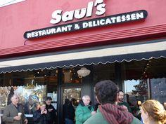 BERKELEY Saul's for Baron Baking bagels on 1475 Shattuck Avenue