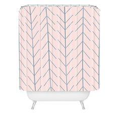 Allyson Johnson Denim Dreamin Shower Curtain | DENY Designs Home Accessories