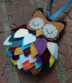 Felt Owl Ornament                                                                                                                                                                                 More