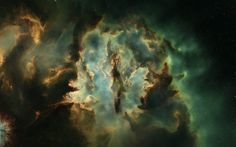Murky Gallente Nebula from EVE Online.