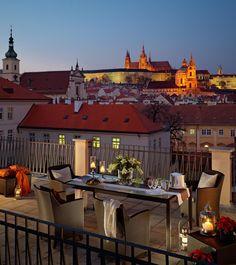 The Tower Suite at Mandarin Oriental Hotel in Prague, Czech Republic