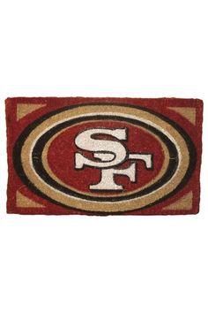 My husband would love this door mat!