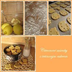 Citronové sušenky Cooking, Lemon, Kitchen, Brewing, Cuisine, Cook