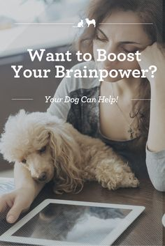 How Your Dog Can Boost Your Brainpower. Couldn't we all use a little brain boost? Believe it or not, your bond with your dog may be the key! via @kristenlevine