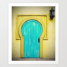 Collection of Doors Number One Art Print by Traveling Gal Photos - $19.00