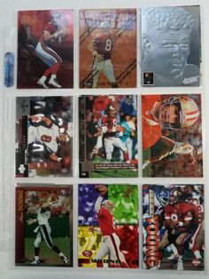 49ers Steve Young football card lot