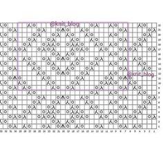 Knitting Charts, Large Wall Art, Knitting Designs, Crochet Stitches, Crochet Top, Cardigans, Patterns, Cake, Dots