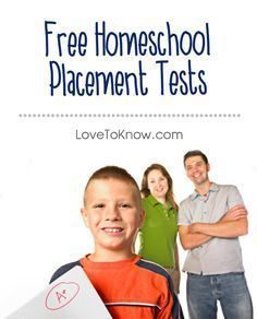 Want to know where your child fits along a curriculum itinerary? Check out these free online homeschool placement tests!