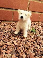 NEEDLE FELTED West Highland Terrier by artist Tyrrell's One Of A Kind!!