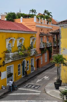 Old Town - Cartagena, Colombia