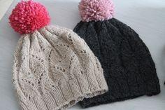 Paulinett Knitted Hats, Winter Hats, Knitting, Diy, Beanies, Fashion, Moda, Tricot, Bricolage