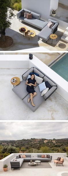 Diy Garden Furniture, Cool Furniture, Outdoor Furniture, Furniture Design, Lawn Restoration, Pool Side Bar, Heather Gardens, Garden Solutions, Hydrangea Care