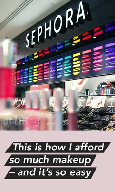 This is how I afford so much makeup - and it's so easy