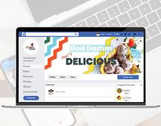 Facebook Cover Design, Design Templates, Adobe Photoshop, New Work, Adobe Illustrator, Advertising, Behance, Branding, Profile