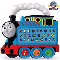 Wonderful Fisher-Price learning ABC letters Thomas the Train and friends educational toy alphabet