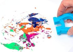 Magnetic Painting: Art Meets Science! | Little Bins for Little Hands