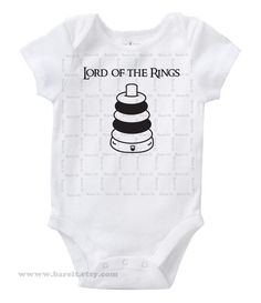 8cb257319159 Lord of the Rings Inspired By Lord of the Rings Cute Geek Nerd Funny Humor  Baby Onesie Size 3,6,12,18,24 month Color White