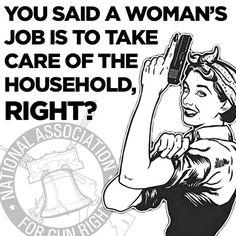 !A woman's job