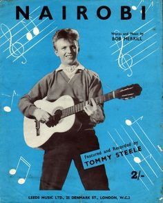 Words and Music by Bob Merrill. Featured here and recorded by… Tommy Steele, Uk Charts, Vintage Sheet Music, Staying Alive, Greatest Hits, Old And New, Album Covers, Movie Stars, Rock And Roll