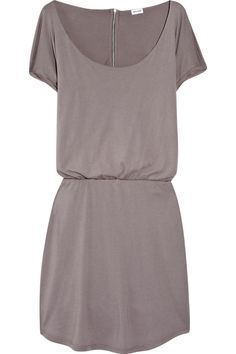 Simple and Splendid! Imagine belted with tailored jacket and layered necklaces- just perfect.