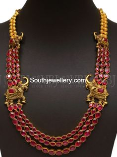 Ruby Step Haram with Elephant Motifs photo