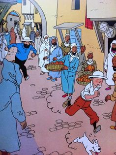 Tintin - Poster album - French edition including 21 posters- (1986)