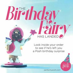 The Birthday Fairy is back to celebrate our 5th birthday! Throughout the rest of September, he'll be choosing random orders to multiply by 5. That means you'll receive 5x the amount of every product in your order! If you are one of the lucky recipients, post your order on social with #5xMyOrder and #PoshTurns5.   https://mistirae.po.sh/products